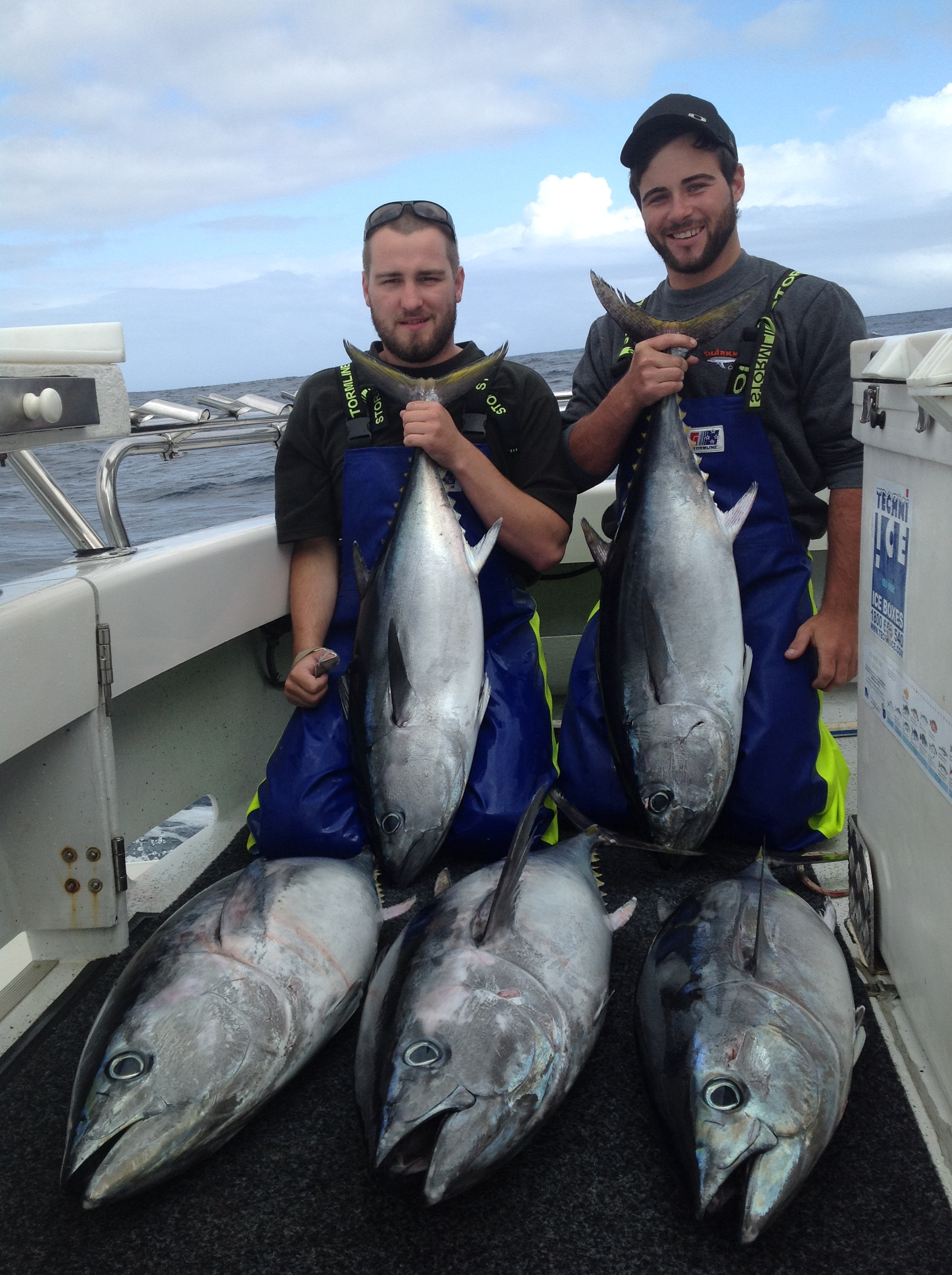 fishing charters portland bluefin tuna by sharkmen