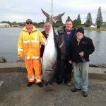 tuna catch on fishing charters portland