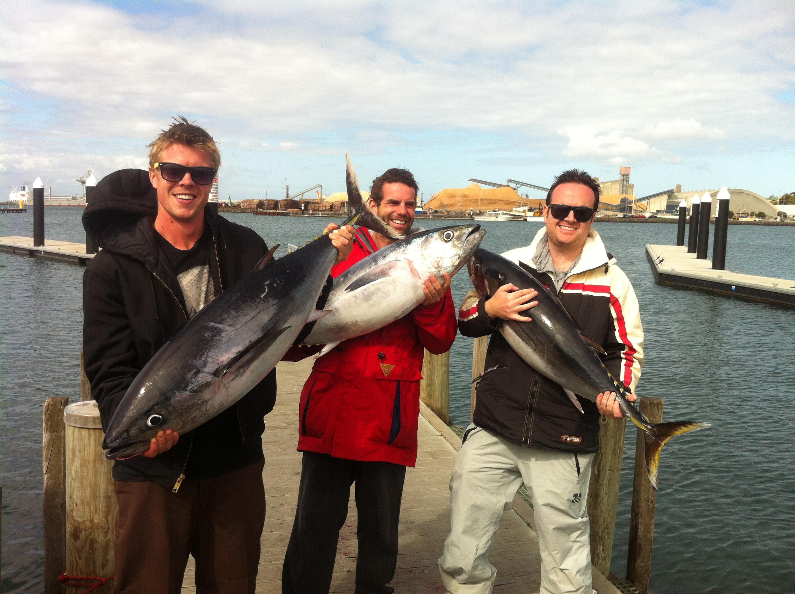 Fishing charters portland bluefin tuna by sharkmen for Tuna fishing trips